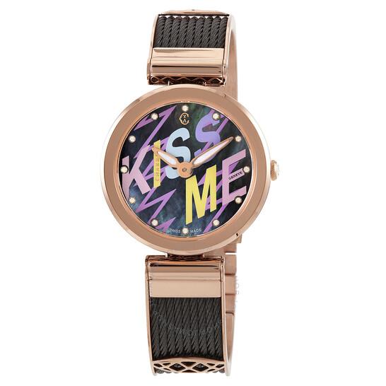 Charriol Forever Quartz Diamond Ladies Watch (FE32302016)
