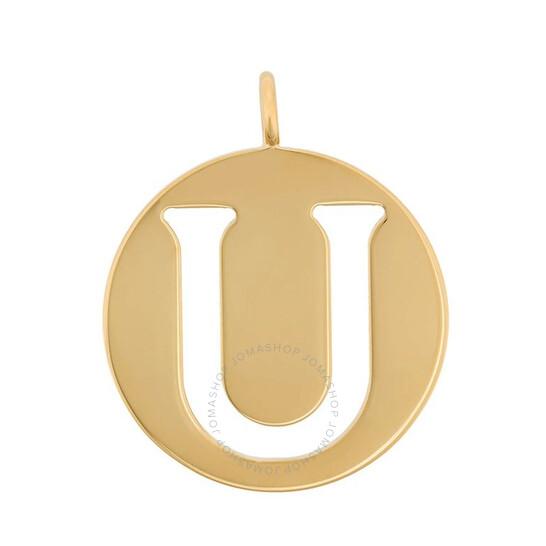 Chloe Alphabet 'U' Gold Bag Pendant | Joma Shop