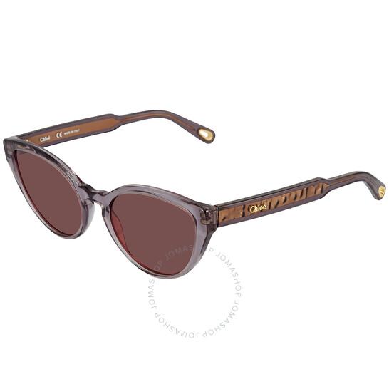 Chloe Red Cat Eye Ladies Sunglasses (CE757S 035 55)