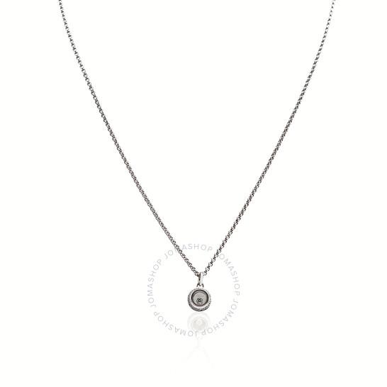 Chopard Happy Diamonds 18kt White Gold Necklace   Joma Shop
