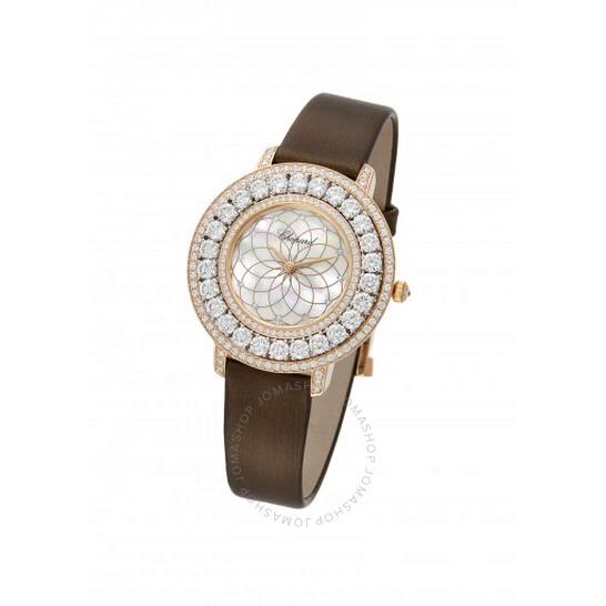 Chopard Heure du Diamant Mother of Pearl Filigree Motif Dial Ladies Watch 139423-9002 | Joma Shop