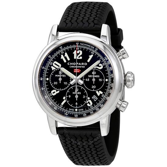 Chopard Mille Miglia Chronograph Black Dial Men's Watch 168589-3002   Joma Shop