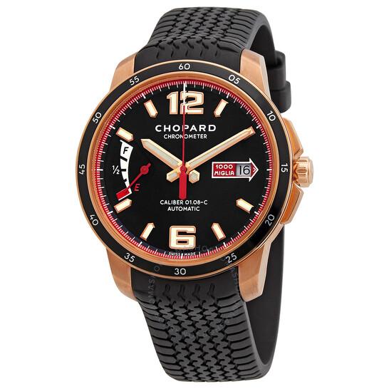 Chopard Millie Miglia GTS Power Control Black Dial Automatic Men's Watch 161296-5001 | Joma Shop