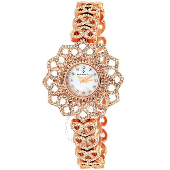 Christian Van Sant Chantilly Quartz Ladies Watch CV4812   Joma Shop