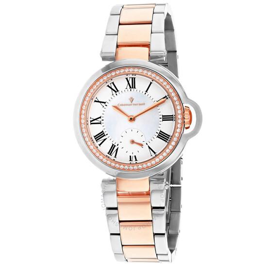 Christian Van Sant Cybele Mother of Pearl Dial Ladies Watch CV0234   Joma Shop