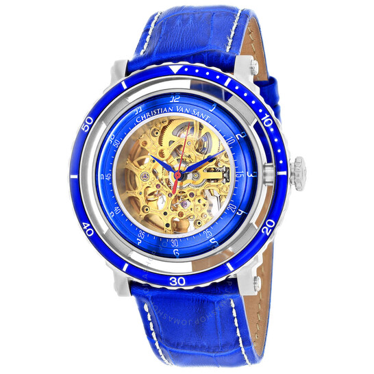 Christian Van Sant Dome Automatic Gold Dial Men's Watch CV0740 | Joma Shop