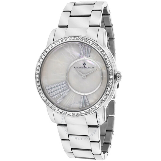 Christian Van Sant Exquisite Quartz Ladies Watch CV3610   Joma Shop