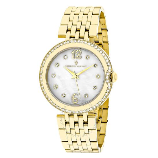 Christian Van Sant Jasmine Quartz Ladies Watch CV1615 | Joma Shop