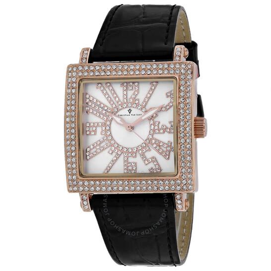 Christian Van Sant Lumina Quartz Silver Dial Ladies Watch CV0242 | Joma Shop
