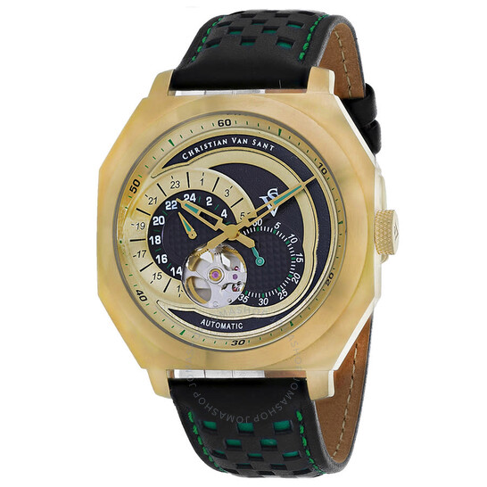 Christian Van Sant Machina Automatic Black Dial Men's Watch CV0566 | Joma Shop
