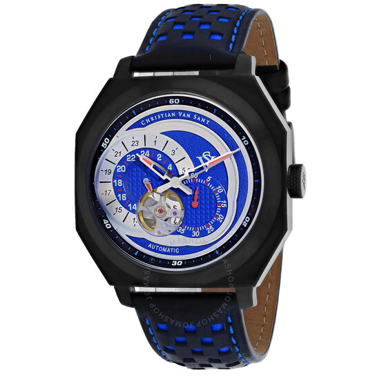 Christian Van Sant Machina Automatic Blue Dial Men's Watch CV0563 | Joma Shop