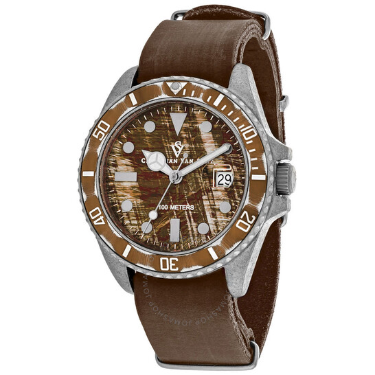 Christian Van Sant Montego Vintage Quartz Brown Dial Men's Watch CV5201   Joma Shop