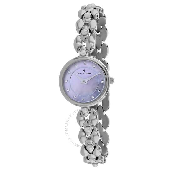 Christian Van Sant Perla Quartz Ladies Watch CV0612 | Joma Shop