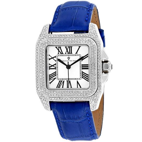 Christian Van Sant Radieuse Quartz White Dial Ladies Watch CV4422   Joma Shop