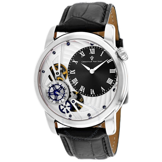 Christian Van Sant Sprocket Auto-Quartz Black Dial Men's Watch CV1541   Joma Shop