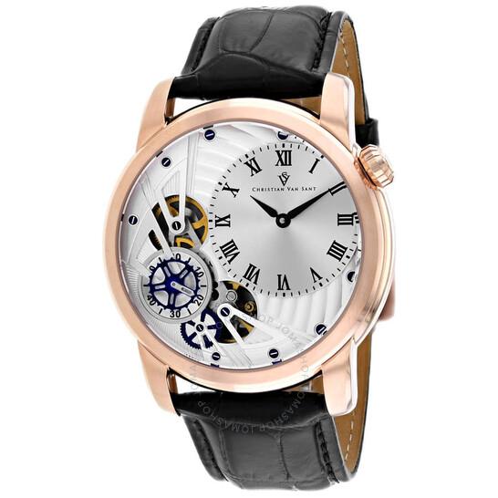 Christian Van Sant Sprocket Auto-Quartz Silver Dial Men's Watch CV1545   Joma Shop