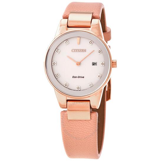 Citizen Axiom Diamond Ladies Watch GA1058-08A | Joma Shop
