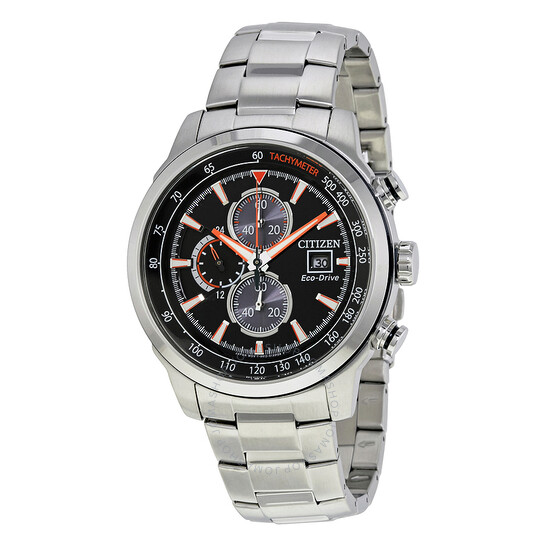 Citizen Eco Drive Chronograph Black Dial Men's Watch CA0574-54E | Joma Shop