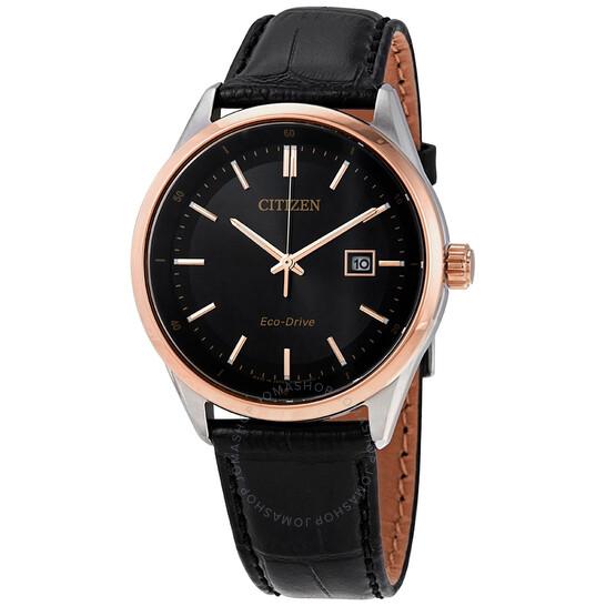 Citizen Eco-Drive Black Dial Men's Watch BM7254-12E | Joma Shop