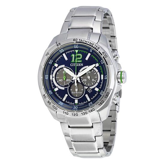 Citizen Blue Dial Men's Chronograph Watch CA4230-51L   Joma Shop