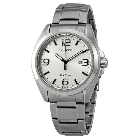Citizen Chandler Eco-Drive Silver Dial Men's Watch AW1430-86A   Joma Shop