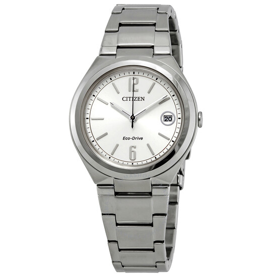 Citizen Chandler Eco-Drive Silver Dial Ladies Watch FE6021-88A | Joma Shop