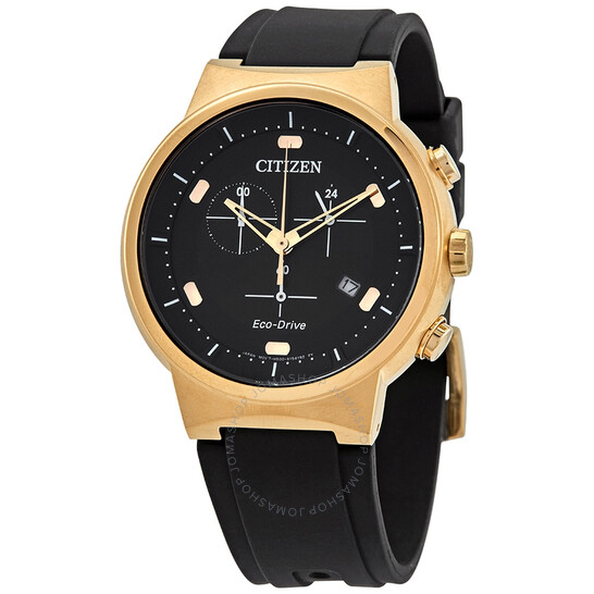 Citizen Chronograph Eco-Drive Black Dial Men's Watch AT2403-15E | Joma Shop