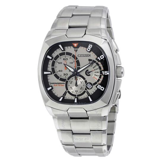 Citizen Chronograph Silver Dial Men's Watch AN9000-53C | Joma Shop