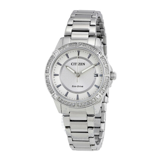 Citizen Drive Silver Dial Ladies Watch FE6060-51A   Joma Shop
