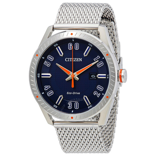 Citizen Drive Eco Drive Blue Dial Men's Watch BM6990-55L | Joma Shop