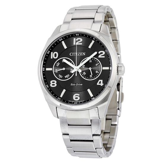 Citizen Eco-Drive Black Dial Men's Watch AO9020-84E | Joma Shop