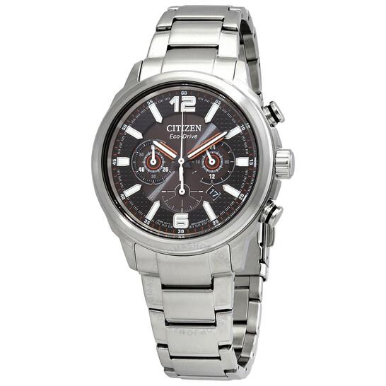 Citizen Eco-Drive Chronograph Black Dial Men's Watch CA4380-59E   Joma Shop