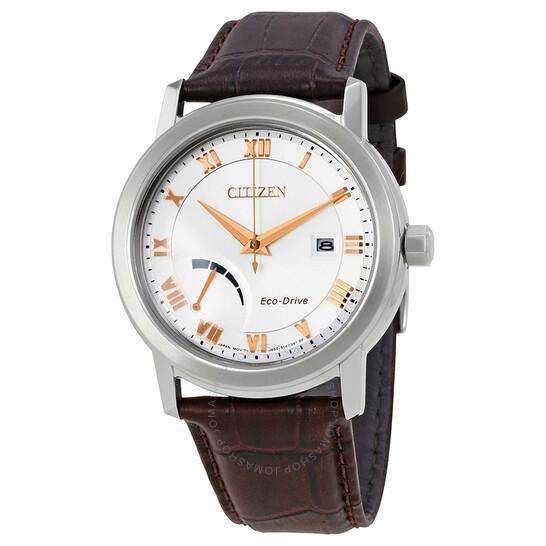 Citizen Eco-Drive Silver Dial Men's Watch AW7020-00A | Joma Shop
