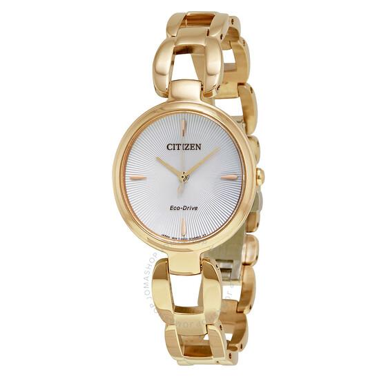 Citizen L White Dial Ladies Watch EM0423-56A   Joma Shop