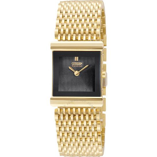 Citizen Ladies Gold-Tone Silhouette Eco-Drive Watch EW8602-51E | Joma Shop