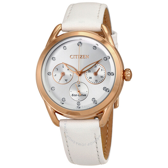 Citizen LTR Multifunction Silver Dial Ladies Watch FD2053-04A   Joma Shop