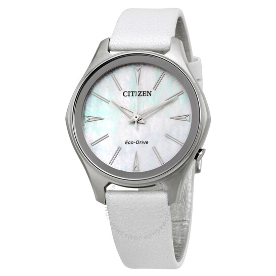 Citizen Modena Mother of Pearl Dial Ladies Watch EM0598-01D | Joma Shop