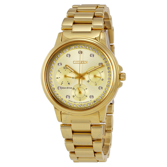 Citizen Silhouette Crystal Ladies Watch FD2042-51P   Joma Shop