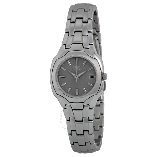 Citizen Silhouette Ladies Eco Drive Stainless Steel Watch EW1250-54A | Joma Shop
