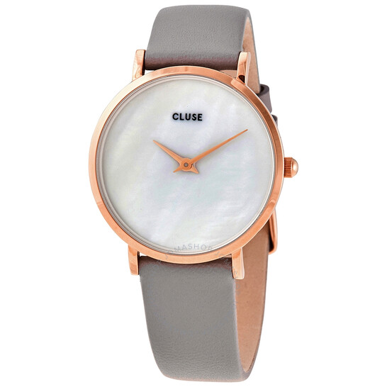 Cluse Minuit La Perle White Mother of Pearl Dial Ladies Watch CL30049   Joma Shop