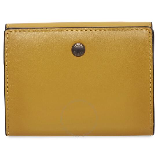 Coach Colorblock Origami Coin Wallet