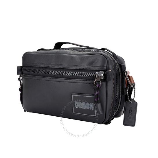 Coach Men's Coach Patch Pacer Top Handle Crossbody Bag 88308 JIBLK -  Handbags, Coach - Jomashop