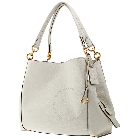Coach White Dalton 28 Shoulder Bag