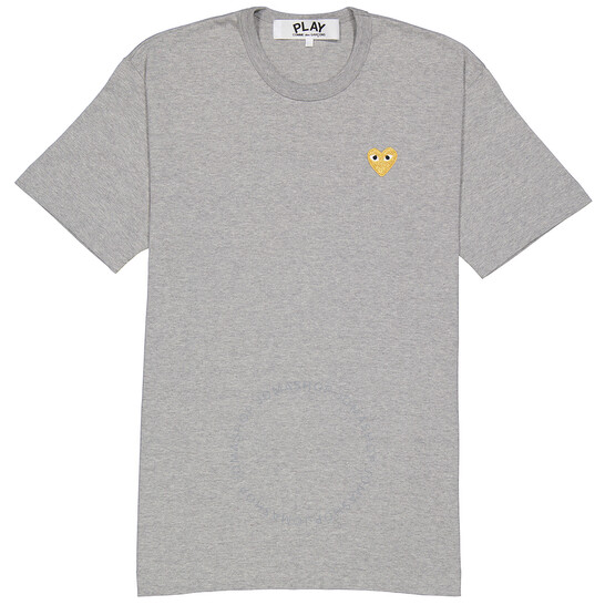 Comme Des Garcons Play Embroidered Heart Logo T-shirt, Brand Size X-large   Joma Shop