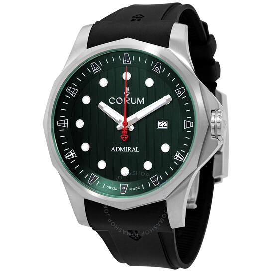 Corum Admirals Cup Legend Automatic Green Dial Mens Watch A411/04174