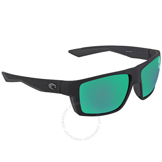 Costa Del Mar Bloke Green Mirror Polarized X-Large Fit Sunglasses
