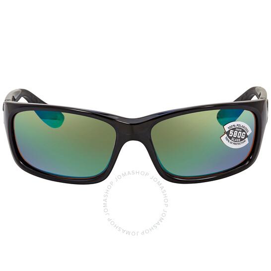 Costa Del Mar Mens Jose Rectangular Sunglasses