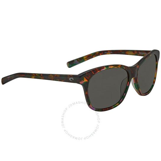 Costa Del Mar Sarasota Polarized Gray 580G Sunglasses (SAR 208 OGGLP)