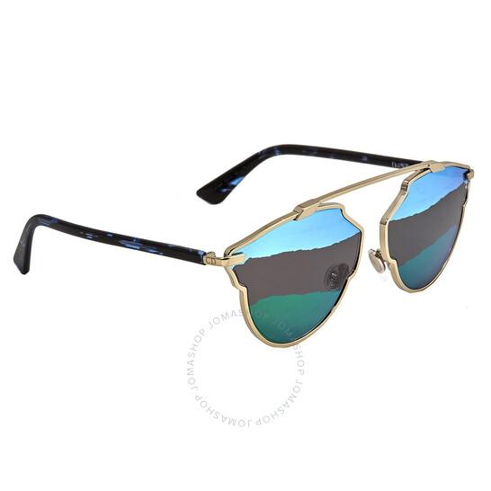Dior Green Cat Eye Ladies Sunglasses DIORSOREALA 03YG/9P 59   Joma Shop