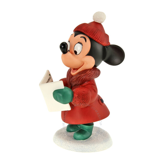 Disney Classics Figurine: Holiday Series Minnie, Model# 41308   Joma Shop